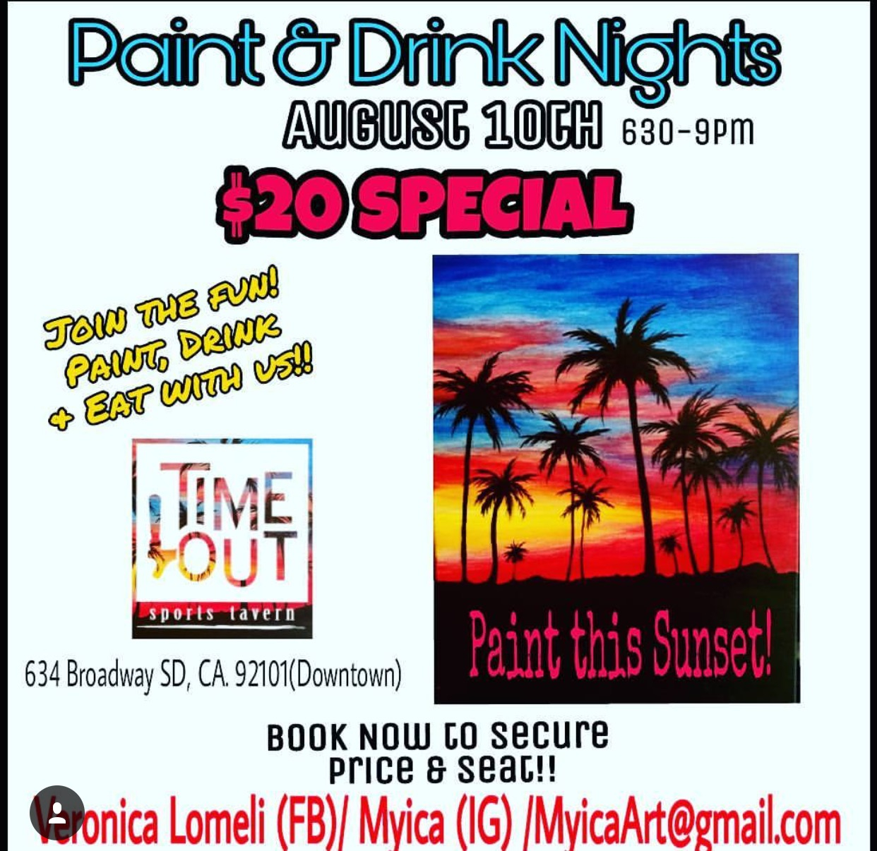 San Diego Paint Night